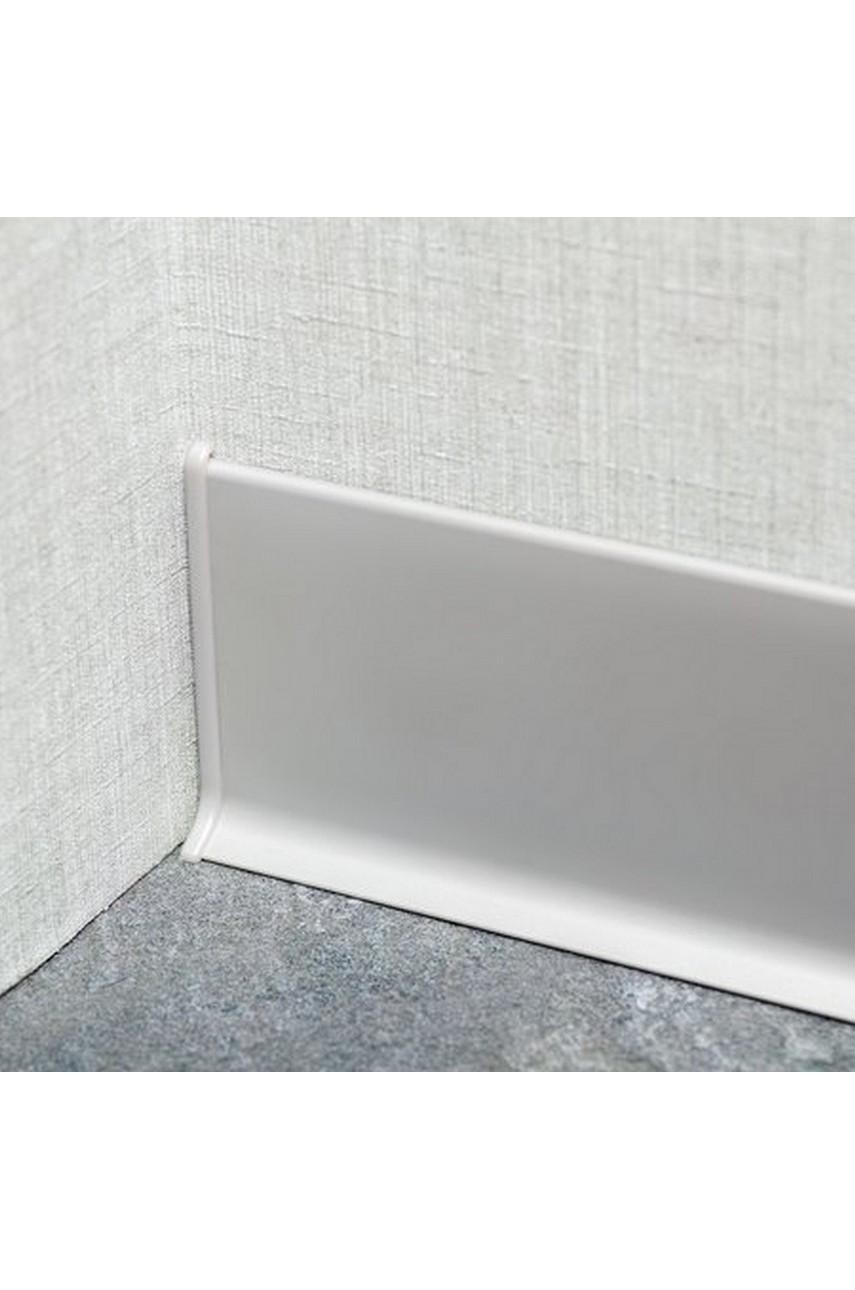 Заглушки для Плинтуса(пара) алюминиевый 80мм ПЛ