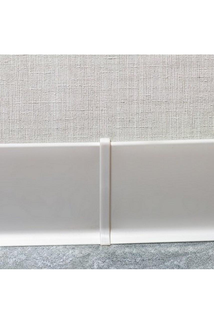 Соединитель для Плинтуса алюминиевый 80мм ПЛ