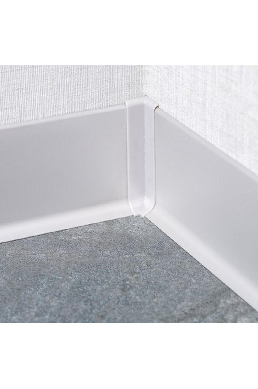 Угол Внутренний для Плинтуса алюминиевый 80мм ПЛ