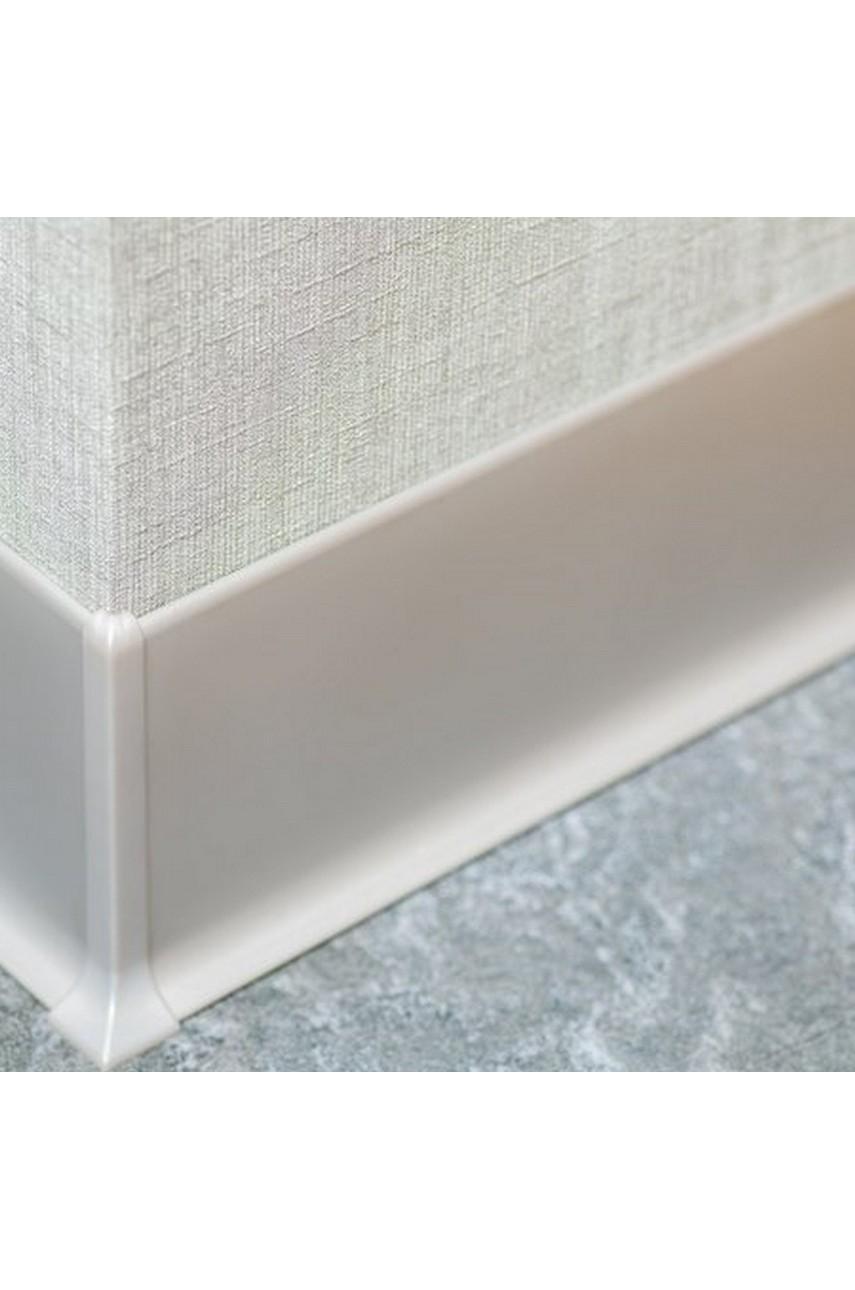 Угол наружный для Плинтуса алюминиевый 80мм ПЛ