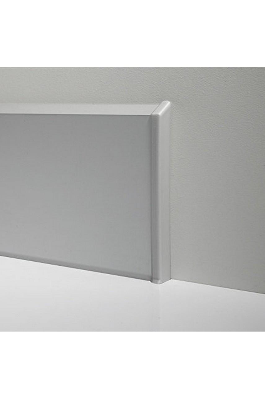 Торцевые(пара) металлический для плинтуса 70мм