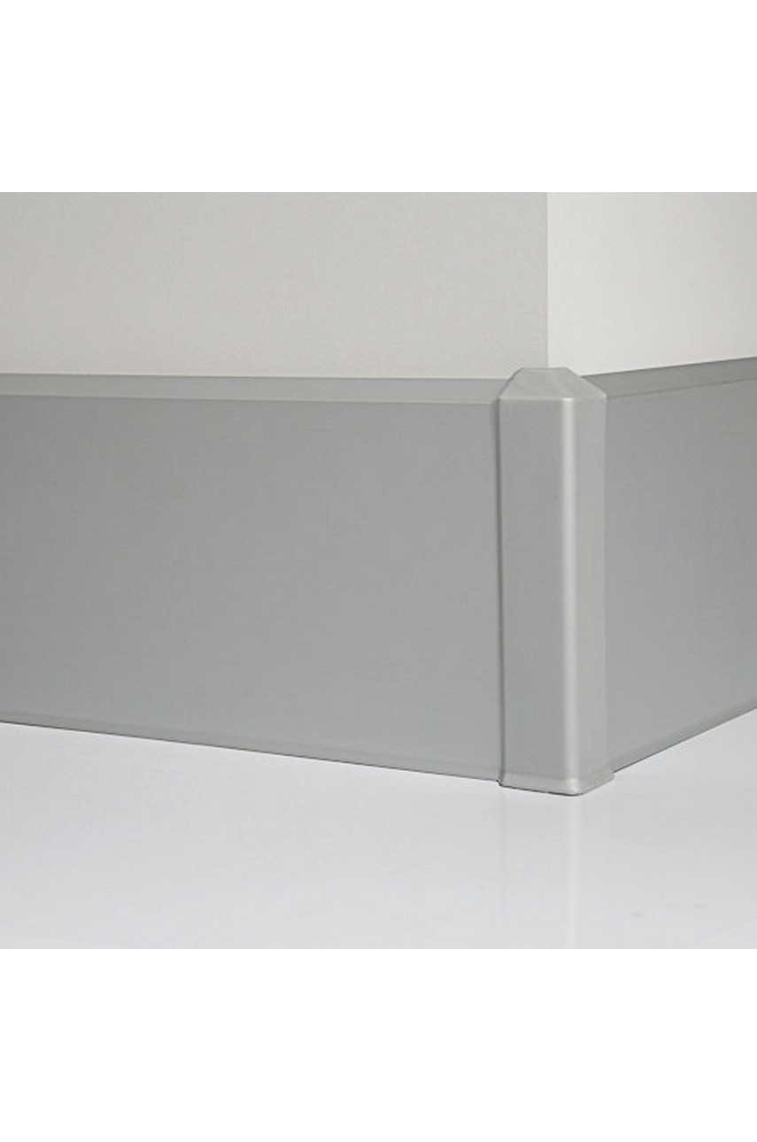 Угол наружный металлический для плинтуса 70мм