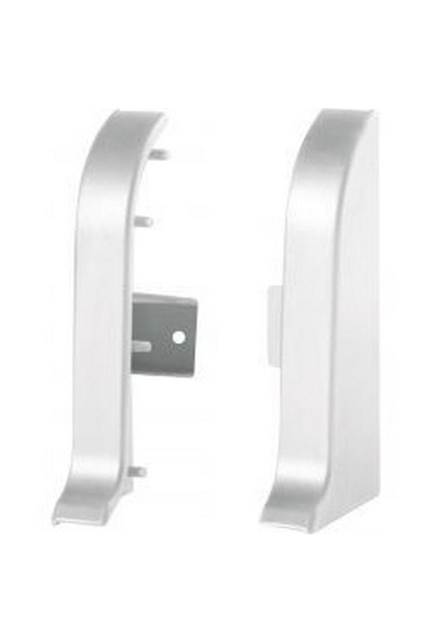 Заглушки для алюминиевого плинтуса LP55