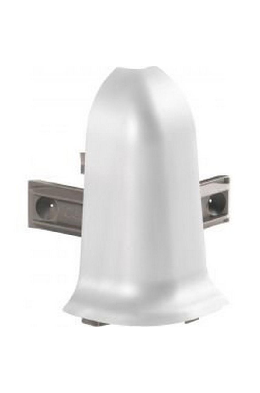 Угол наружный для алюминиевого плинтуса LP55