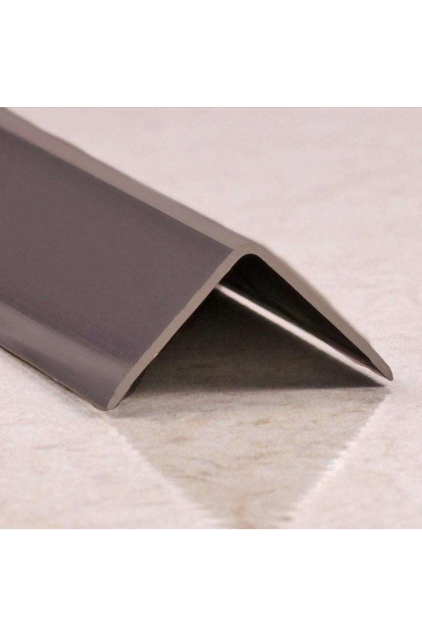 Анодированный алюминиевый уголок 15х15 Бронза Глянец ПН15х15