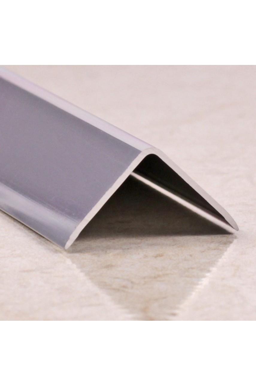 Анодированный алюминиевый уголок 15х15 Серебро Матовый ПН15х15