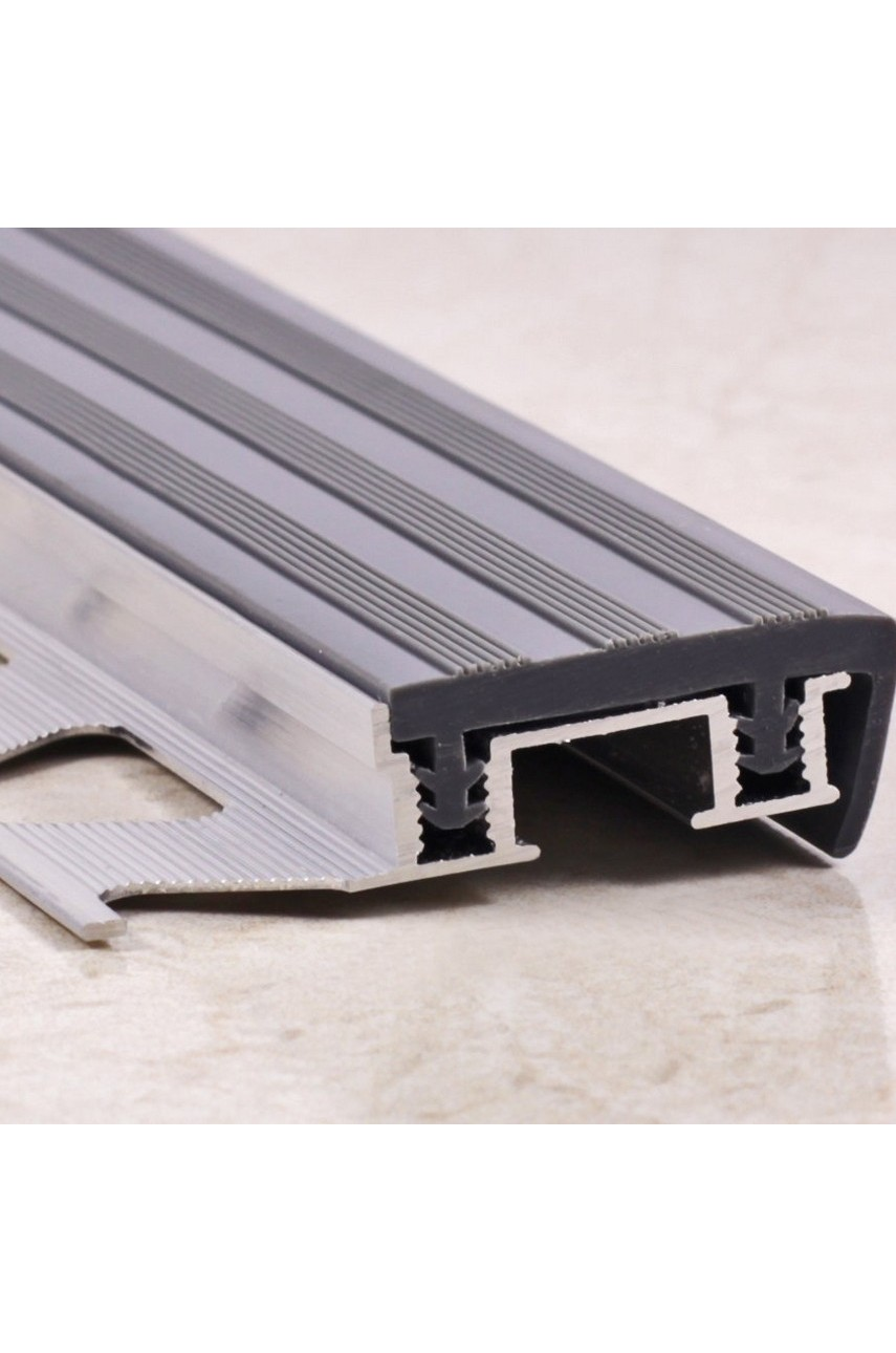 Профиль алюминиевый закладной под плитку