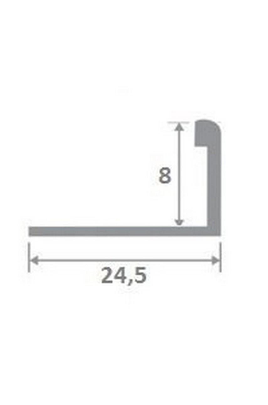 Латунный полированный профиль ЛПО-Г8