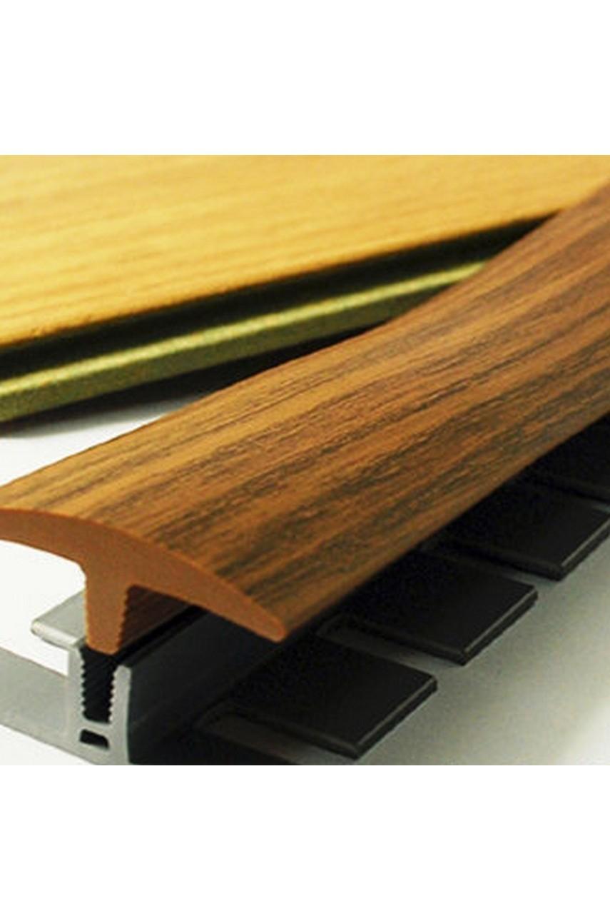 Профиль порог гибкий Step Flex 36мм 3|6 м. 30 Светлый бук